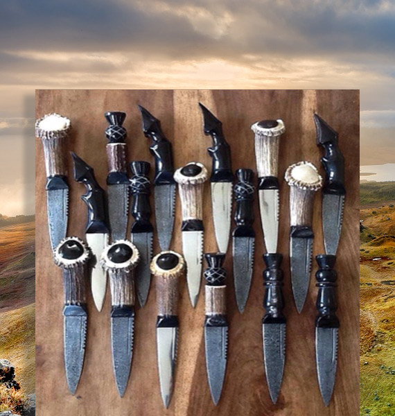 Antler Sgian Dubhs   Handmade Sgian Dubhs   Highland Wear